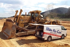 bulldozer airconditioning repairs Canberra ACT